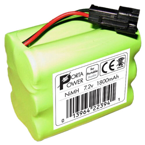 Battery Pack (1800mAh) for Tivoli Audio PAL iPAL Radio (fits MA-1, MA-2, MA-3)
