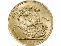 George V 1913 Gold Sovereign