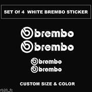 Brembo Caliper Decal