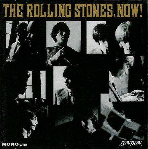 Rolling Stones Now 9 Bonus Tracks Mini Poster CD Maximum EX Condition  - $99.99
