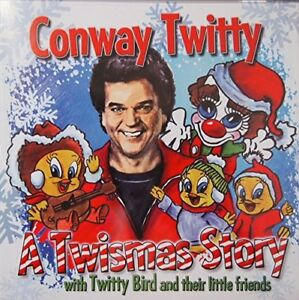 Christmas CD New Conway Twitty & the Twitty Birds