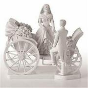 Carriage Wedding Cake Toppers