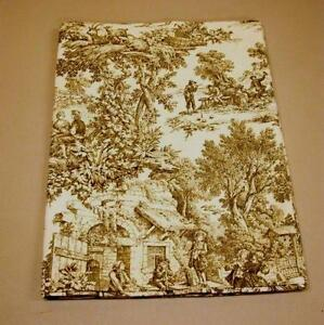 Sage Green Toile Curtains