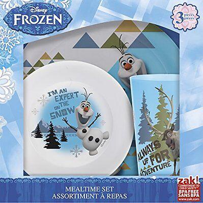 Frozen Olaf 3 Piece Dinnerware Set