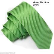 Mens Silk Ties Green