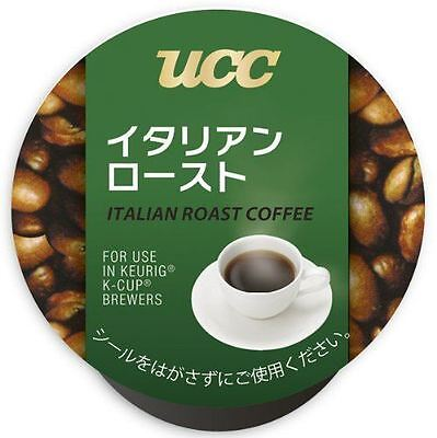 UCC K-CUP Italian Roast Coffee Capsules 7.5g × 12 Cups New from Japan