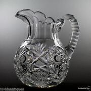 Antique Cut Glass