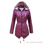 Ladies Hooded Coats Waterproof