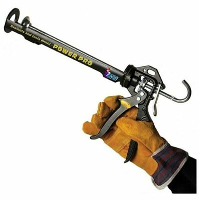 Power Pro Cartridge Sealant Silicone Mastic Caulk Gun Skeleton ULITMATE H/DUTY