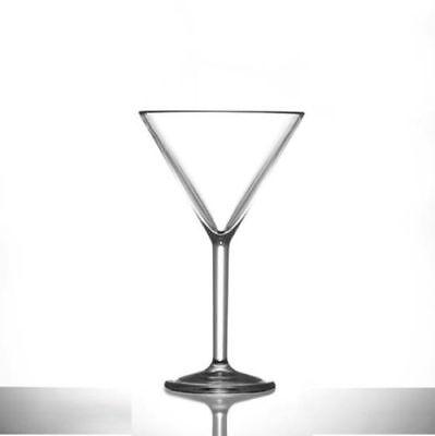 rbonat Wiederverwendbar Kunststoff Martini Gläser 7oz Pack 6 (Martini Kunststoff-gläser)