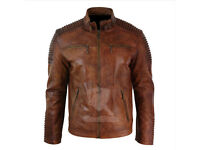 Brand new leather jacket. (real leather)