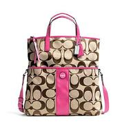 Coach Foldover Handbag