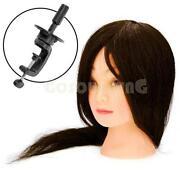 100 Human Hair Training Head