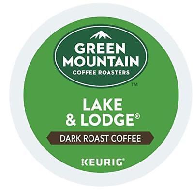 Green Mountain Lake and Lodge Bold Coffee 96 ct