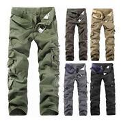 Mens Cargo Combat Jeans