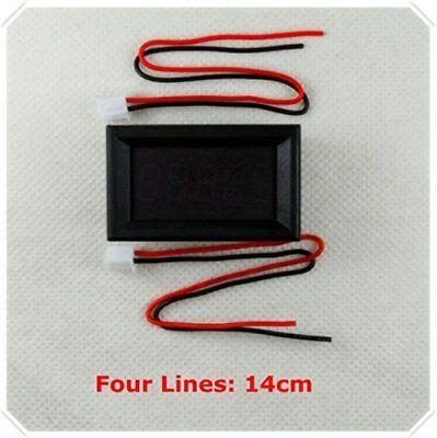 Blue Led 5 Digit Dc 0-4.3000-33.000v Digital Voltmeter Voltage Meter Car Panel
