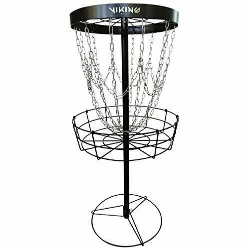 Viking Discs Battle Basket Pro Lightweight Disc Golf Basket