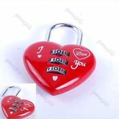 Heart Shaped Pad Lock