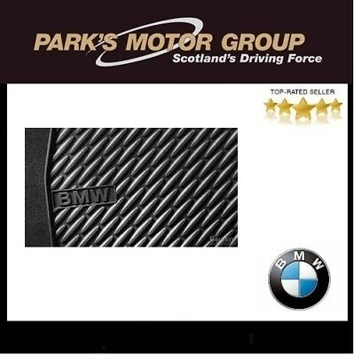 GENUINE BMW FRONT ALL WEATHER MATS FOR 5 SERIES F10F11 51472350432