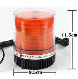 LED Magnetic base light for snow plowing, towing, etc