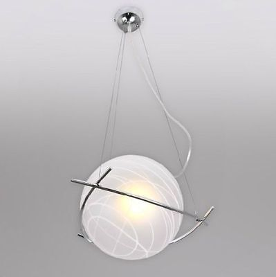 New Modern Ceiling Light Pendant Lamp Glass ...