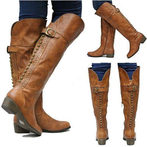 Brown Knee High Boots | eBay