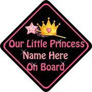 Princess on Board
