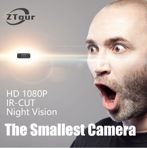 Newest IR-CUT Camera Smallest 1080P Full HD Mini camera Micro Infrared Night Vis