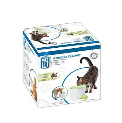 Catit Trinkbrunnen Fresh&Clear 3 Liter für Haustier Katzen und kleine Hunde NEU ()