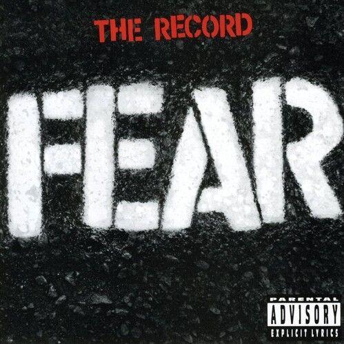 Fear - Record [New CD] Explicit