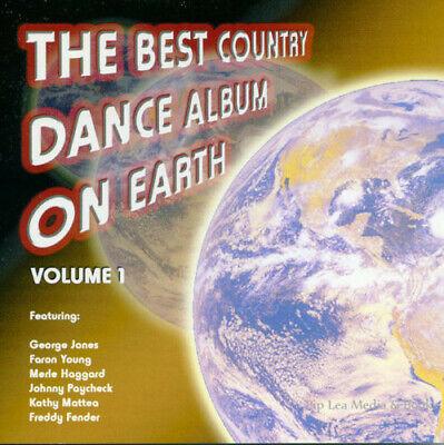 The Best Country Dance Album On Earth Volume 1 CD NEW George Jones Merle