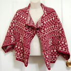 CAbi Red Shrug Sweaters for Women