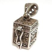 Sterling Silver Prayer Box