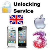 Unlock iPhone 4 Three UK