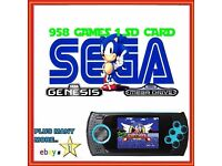 Sega Genesis handheld card