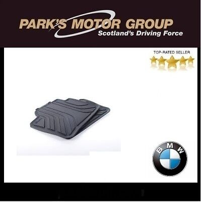 BMW Genuine All Weather Rubber Rear Mats For F30F31F34