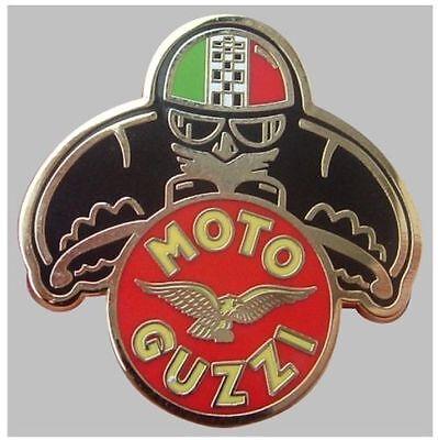 NEW MOTORCYCLE BADGE BIKIE MOTO GUZZI LE MANS V50 ROCKERS ACE CAFE RACER 59 CLUB