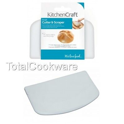 KitchenCraft Best Dough Cutter and Scraper, Pastry, Bread, Pizza     WATCH VIDEO