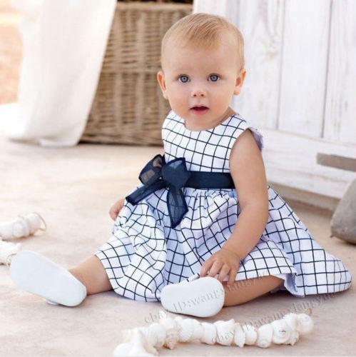 Baby Plaid Dress