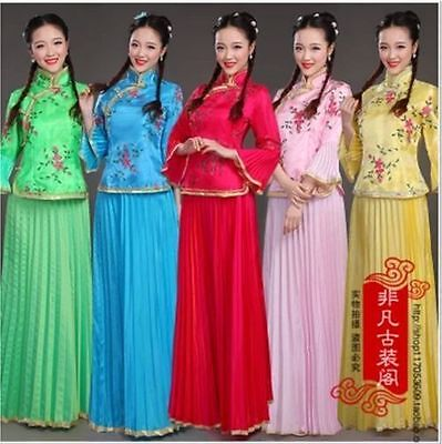 Gorgeous Chinese Ancient Tang Fairy Princess Dramaturgic Costume Women/Dress  - Fairy Dresses For Women