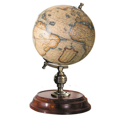 Authentic Models Student Small Globe With Brass & Wood Base