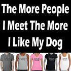 Polyester Dogs Tops for Women