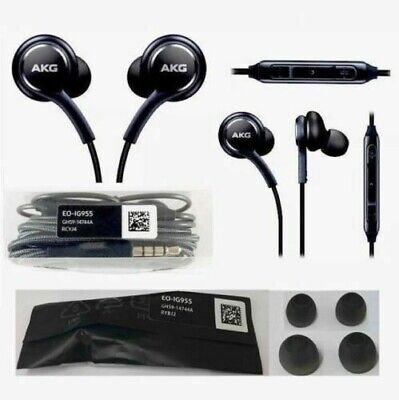 Orginal Samsung Galaxy S8 S9 S10 S10 Plus Note9 10 AKG EarBuds Headphone Headset