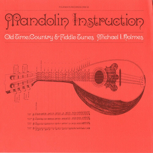 Michael Holmes - Mandolin Instruction: Old Time Country Fiddle [New CD]