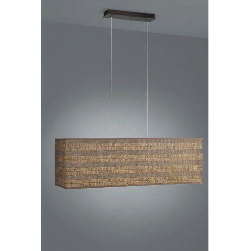 Pendelleuchte stoffschirm deckenlampen kronleuchter ebay for Pendelleuchte stoffschirm