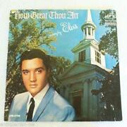 Elvis Presley How Great Thou Art LP