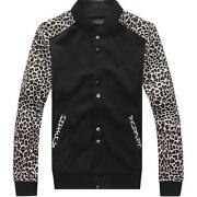 Mens Leopard Print Jacket