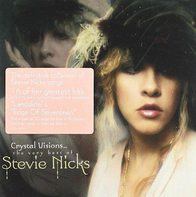 STEVIE NICKS CRYSTAL VISIONS: THE VERY BEST OF CD (GREATEST HITS)