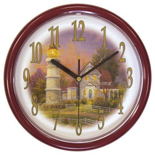 Thomas Kinkade Wall Clock Ebay