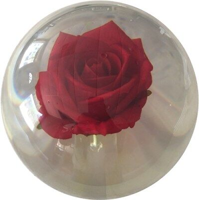 New KR Clear Red Rose Rare Bowling Ball 14 pounds